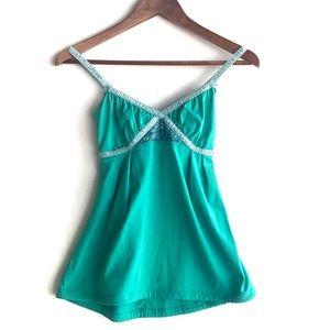 lululemon Dance Strap Tank Top Green Size 6